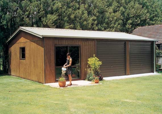Add sleepout to your garage for overflow.